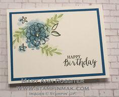 Happy Birthday 2-step stamping video