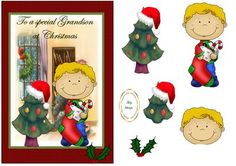special grandson Christmas on Craftsuprint - Add To Basket!