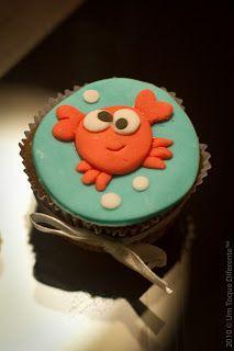 Fundo do mar! Cupcake