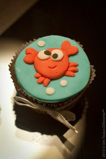Fundo do mar! Cupcake
