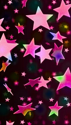 3d stars wallpaper