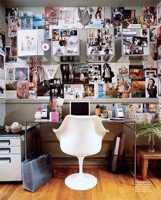 Wanddekoration - Ideen für Fotos am Arbeitsplatz
