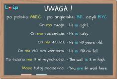 """Wiele błędów popełniamy szczególnie wtedy, kiedy stosujemy polskie elementy językowe w produkcji języka angielskiego. Oto zwroty, które po polsku mają czasownik """"mieć"""", a po angielsku """"be"""", czyli być. Wyłap i popraw błędy z minikursem """"Zerwij z błędami gramatycznymi"""". Loip - Angielski i Polski Online"""