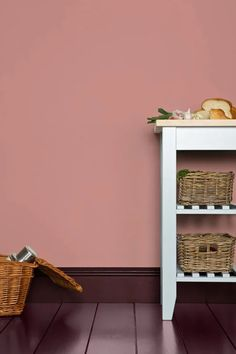 Cinder Rose by Farrow & Ball is a wildly romantic rose pink paint colour available at Tonic Living in Toronto Farrow Ball, Farrow And Ball Paint, Cinder Rose Farrow And Ball, Farrow And Ball Living Room, Farrow And Ball Kitchen, Murs Roses, Rose Bedroom, Pink Paint Colors, Paint Colors