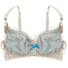 Elle Macpherson Becoming Daylight Bra ($18) ❤ liked on Polyvore featuring intimates, bras, underwear, lingerie, elle macpherson intimates and lingerie bras