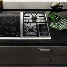 Modular cooktops by Wolf. Induction module (): 2 induction. Gas module (): 2 gas. Available in the US.