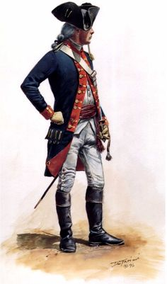 Lieutenant, 2nd Continental Artillery Regiment, by Don Troiani.