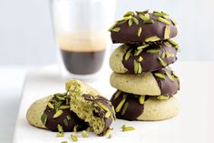Biscotti Al Pistacchio Recipe (Pistachio Cookies) Recipes — Dishmaps