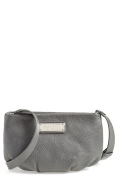 MARC BY MARC JACOBS 'New Q - Percy' Leather Crossbody Bag available at #Nordstrom