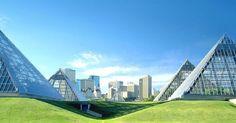 Muttart Conservatory em Edmonton #viagem #canada #viajar