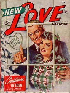 new love magazine, christmas