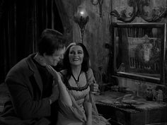 Herman and Lily Munster Munsters Tv Show, The Munsters, Munster Family, Ted Cassidy, Herman Munster, In The Pale Moonlight, Lily Munster, Yvonne De Carlo, Ghost And Ghouls