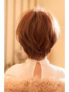クローバー(clover)丸みでつくる大人可愛いショートヘア
