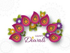 Diwali Festival Holiday Design With Paper Cut Style Of Indian Rangoli And Flowers. Purple Color On White Background, Illust Stock Illustration - Illustration of hinduism, abstract: 122462711 Diwali Diya, Indian Rangoli, Diwali Festival, Happy Diwali, Cut And Style, Paper Cutting, Crochet Earrings, Abstract, Purple