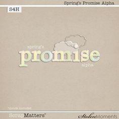 Spring's Promise alpha freebie from Stolen Moments #scrapbook #digiscrap #scrapbooking #digifree #scrap