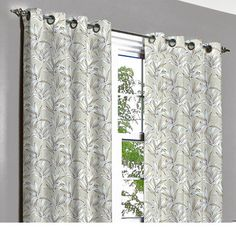 Rivalto Purple Fresh Grommet Unlined Curtain in by TheHomeCentric