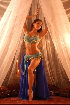 belly dancing in the summer.