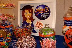 graduation candy buffet