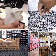 Sneakers having grown into the commodity that they are, Nike now has a Refurbished program, like Apple's, for reselling used product.Sneakers that are in good enough condition to be resold are … Eco Products, Not Good Enough, Conditioner, Apple, Nike, Apple Fruit, Apples