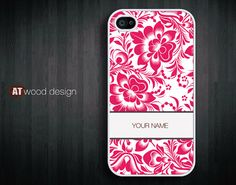 IPhone 5 case Custom Hard case Rubber case iphone 4 by Atwoodting, $6.99