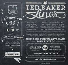 Ted Baker Lines | POKE