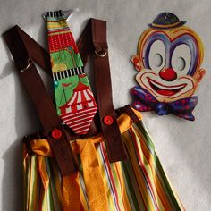 Toddler Boy Circus Ringmaster Clown Outfit Size 2-3 by TwinsFromOz