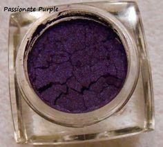 elf Pigment eyeshadow in Passionate Purple
