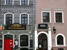 Pub u Szewca, Stare Miasto, Lublin | U Szewca Pub, Old Town, Lublin #uszewca #pub #architecture #lublin #oldtown #poland #polska #travel #seeuinpoland #colours