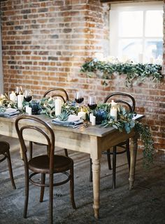 Wedding styling we love www.thewildromantic.com.au #weddinggreenery #weddingreception #weddingstyling #weddingtheme #rusticwedding #thewildromantic