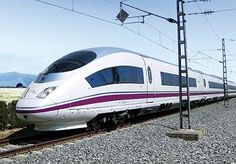 The Siemens Valeroe E is the latest in high-speed train technology to come from Spain. The train seats 404 passengers and includes a conference room.  What more can the tax payers provide?
