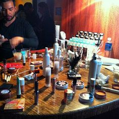 Benefit touchup station at Baileys Original event. #chicago #redcarpetready