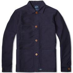 Bleu de Paname Counter Jacket (Marine)