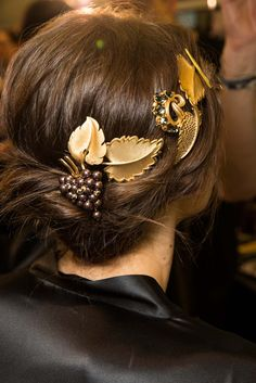 HAIR: Dolce & Gabbana Fall 2015 Backstage Beauty #MFW