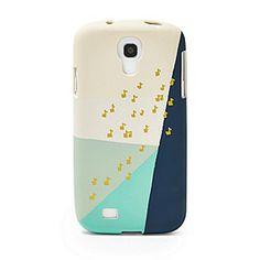 SL4544P - Musical Notes Galaxy S4® Phone Case