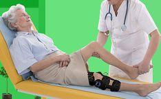 post op knee brace after surgery