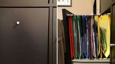 Turn an IKEA Drawer into a Cubby Filing Drawer