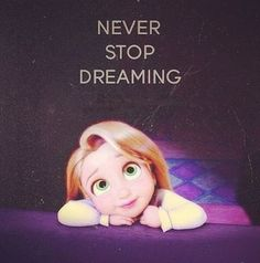 never stop dreaming - It's a Disney World