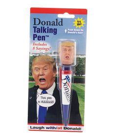 Look at this Donald Trump Talking Pen on #zulily today!