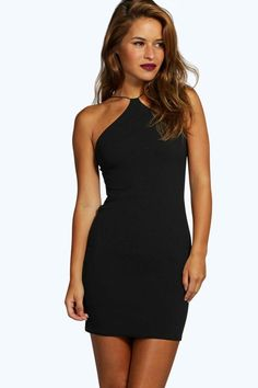 Rebecca Strappy Petite Bodycon Dresses