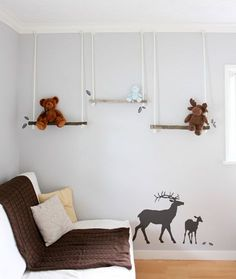 super cute woodland nursery
