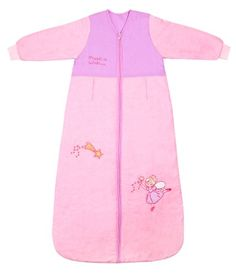Winter Baby Sleeping Bag Long Sleeves 2.5 Tog - Pink Fairy - 12-36 months/43inch - $39.99