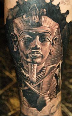 Tattoo Artist - James Tattooart - Mask tattoo | www.worldtattoogallery.com