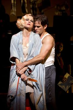 Sutton Foster & Steven Pasquale in THE WILD PARTY