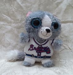 Atlanta Braves Miniature Plush Toy Forever Brand Official MLB Product #AtlantaBraves