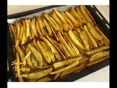 Fırında Patates Tarifi - Fırında Patates Kızartması Nasıl Yapılır? - YouTube