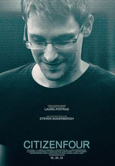 """17 October 2014  CitizenFour  """"What we used to call 'freedom' or 'liberty', we now call 'privacy'. And privacy is dead."""" Just been to a preview of this gripping documentary film and I highly recommend that you see it when it's released at the end of the month. Neil x"""