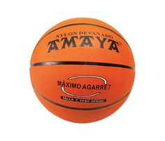 Balón baloncesto caucho naranja 24 cm