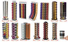 20+ Most Creative Nespresso Capsules Rack | 1 Design Per Day