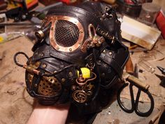 Steampunk mask by ChanceZero on deviantART