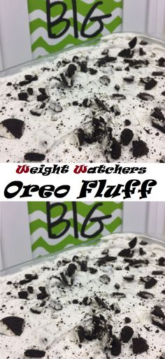 #Oreo #Fluff #weight #watchers #healthy #skinny #dessert #dish #dinner #easy #fromgatetoplate No Bake Desserts, Dessert Recipes, Kids Meals, Easy Meals, Oreo Fluff, Good Food, Yummy Food, Weight Watchers Meals, Creative Food